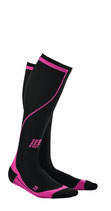 CEP Damen Endurance Compression Socks - Pink/Schwarz