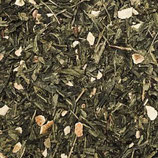Nidhi, die Goldene - Bio-Grüner Tee (Sencha) mit Zitrone