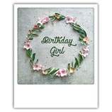 """Postkarte """"Birthday Girl"""""""