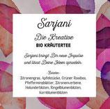 Sarjani, die Kreative - Bio-Kräutertee