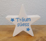 """Leuchtstern blau """"Träum süess"""""""