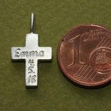 Gravur für die kleinen Kreuz Anhänger