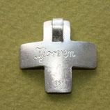 Gravur für große Kreuz Anhänger 10 Zeichen