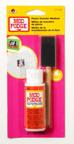 Mod podge photo transfer medium carded