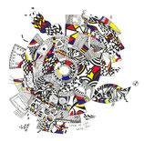 Kunstkarte Circle of Life
