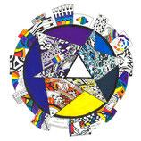 Kunstkarte Peace
