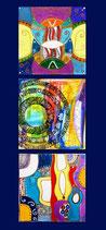 Kunstkarte Hochformat
