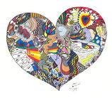 Kunstkarte Heart and Soul