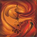 Kunstkarte Wave