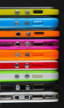 Bumper de couleurs divers iphone 5/5S
