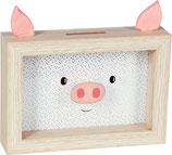Sparschwein Bilderrahmen