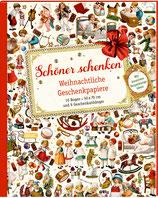 Geschenkpapierbuch Weihnachten nostalgisch