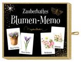 Zauberhaftes Blumen oder Vogel- Memospiel