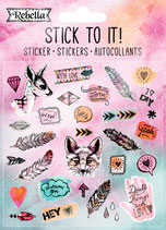 "Sticker ""Stick to it"""