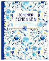 """Geschenkpapierbuch """"All about blue"""""""