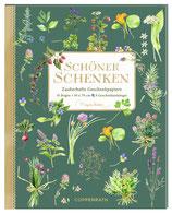 """Geschenkpapierbuch """"Kräuter"""""""