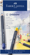 12 Farbstifte Metallbox