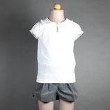 LJB-063 襟付きTシャツ ホワイト 新商品