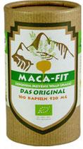 100 Kapseln Bio-Maca (gelb)