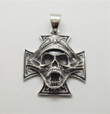 Kreuz mit Skull