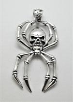 Spinne mit Skull gross