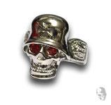 Skull mit roten Augen