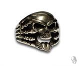 Skull mit Zunge