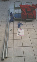 """Vermietung """"Event-Fallschirm 12m"""" für 1 Wochenende"""
