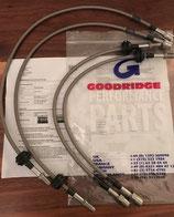 Goodridge Stahlflex Bremsleitungen M3