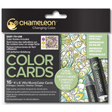 Chameleon Color Cards Floral Patterns (CC0105)