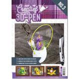 A4 boek - Creatief met de 3D-pen - Pasen 3DPENBA4003