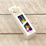 Foil - Rainbow Spots (Mirror Finish) - Heat activated Couture Creations CO726057