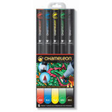 Chameleon 5-Pen Primary Tones Set (CT0502)