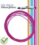 3D Pen filament - 5M - fluor roze FIL010
