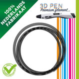 3D Pen filament - 5M - Antraciet FIL033