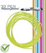 3D Pen filament - 5M - geel fluor FIL024