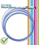 3D Pen filament - 5M - transparant blauw FIL029