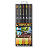 Chameleon 5-Pen Earth Tones Set (CT0503)