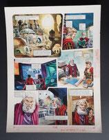 "Wood, Gerry - Trigië, originele pagina (pagina 32 ""Keizer Keren"")"