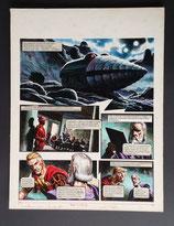 "Frey, Oliver - Trigië, originele pagina (pagina 35 ""De proeven van Janno"")"