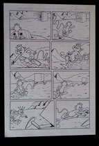 "Borillo, Alfonso - Kiko-2000, Originele pagina (pag. 2 uit ""Een huis vol verrassingen"")"
