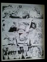 "Giovannini, Ruggero - Olac, originele pagina (pagina 36 ""De dagge van Gwythan"")"