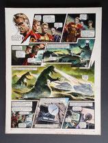 "Frey, Oliver - Trigië, originele pagina (pagina 6 ""Duel met Cato"")"