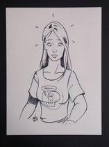 Tibo (Tim Bolssens) - Originele tekening