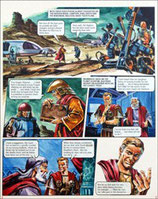 "Wood, Gerry - Trigië, originele pagina (pagina 21 ""De vruchten der vergetelheid"")"