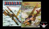 Loutte (Eric) - Biggles 18 luchtvaartillustraties