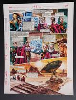 "Wood, Gerry - Trigië, originele pagina (pagina 42 ""Terugkeer van de Skorpiads"")"
