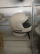 ARAI NR-5 WHITE IN FIBRA TG. M