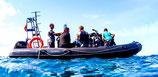 Alquiler de Barco tipo Semirigida con Patron -  Paseos , Hacer Snorkeling , Buceo y mucho mas