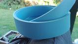 Lederriemen - Light blue